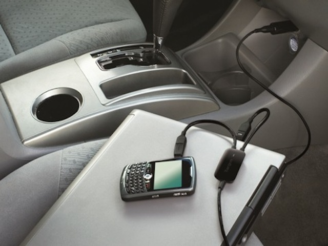 charge mobile in car