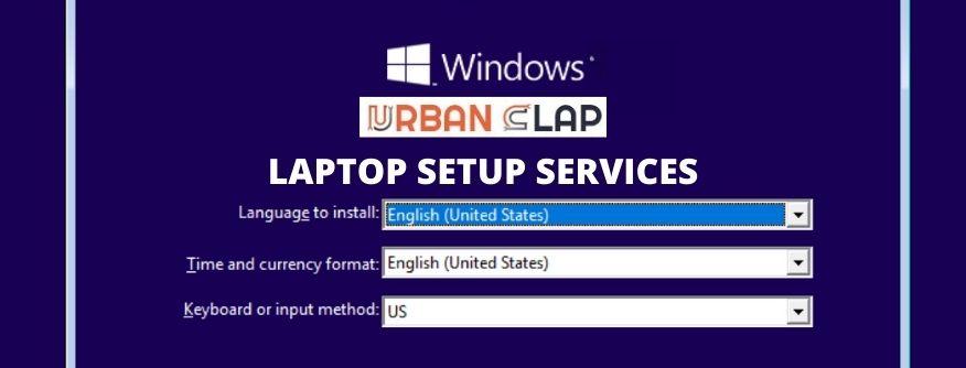 Laptop Setup Services